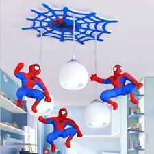 Creative Spiderman Pendant Lamp Children's Room LED Ceiling Lighting New Modern