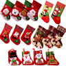 DIY Santa Claus Sock Christmas Tree Door Hanging Ornaments Xmas Party Decoration