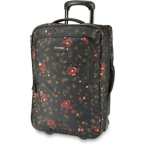 Dakine Carry On Roller Bag 42L Wheeled Luggage Begonia Print New 2021