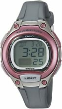 Casio Women's Classic Digital Quartz 50m Gray Resin Watch Lw203-8av