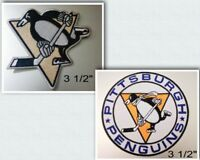 Pittsburgh Penguins Iron On Patch Choice of Style Free Shipping in Envelope Mail