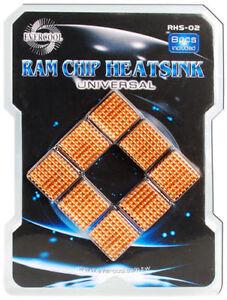 Evercool Aluminum Heatsink for Motherboard DDR Memory VGA Chip Cooler RHS-02