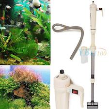 Aspirateur électrique pour d'aquarium de Poisson Pompe Nettoyage Neuf