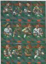 2012 NRL SELECT DYNASTY RABBITOHS SILVER PARALLEL TEAM SET 12 CARDS
