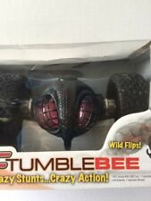 """Kids Toy Remote Controlled RC Tumblebee 10"""" Jumps Flips & Spins 2.4GHz USB NEW"""