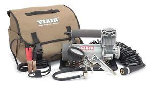 VIAIR 40045 400P Automatic Portable Tire Air Compressor - Jump Starter, 12 Volt