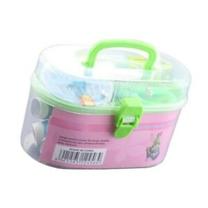 16pcs Sewing Accessories Portable Sewing Box Kitting  Quilting Thread