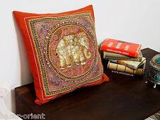 40x40 cm antik orient Asien Bild Kalagas Kissen Kissenbezug Burma pillowcase N-G