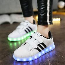 enfants Charge LED Lumière De Sport Basket Lumineuse Lacet Chaussure Briller