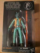 "Star Wars Black Series Greedo 6"" Action Figure"