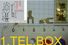 Telefon-Ersatzteil: 50 neue Kabelschuhe für altes Telefon: W48 , W28 , W38, W 48