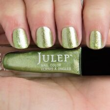 NEW! Julep nail polish ETTA Vernis 0.27 Fl.Oz. Art deco peridot metallic green