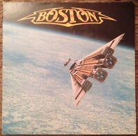 BOSTON - THIRD STAGE - 1986 Vinyl LP - + Lyrics Inner- MCA MCG 6017 A1/B1 VG