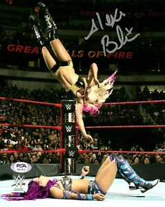 WWE ALEXA BLISS HAND SIGNED AUTOGRAPHED 8X10 PHOTO WITH PROOF AND PSA DNA COA 2