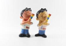Krautol === 2 Werbefiguren Maler Handwerker Farbe Quietscher Figur