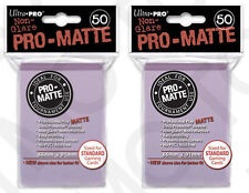 100 2pk ULTRA PRO Pro-Matte Deck Protector Card Sleeves Magic Standard Lilac