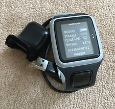 TomTom RUNNER GPS Sports Watch And Charger TESTED Ref:85