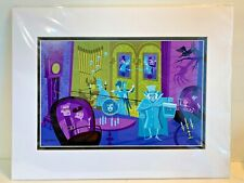 Disneyland Haunted Mansion 50th Anniversary 31 Ghosts Print By Shag (Left Side)
