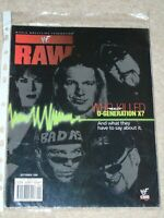 WWE MAGAZINE RAW SEPTEMBER 1999 WRESTLING D-GENERATION X COVER WWF DX