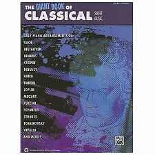 Giant Book of Classical Piano Sheet Music : Easy Piano: By Alfred Publishing ...