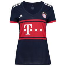 Camisetas de fútbol de clubes internacionales 2ª equipación azules talla M