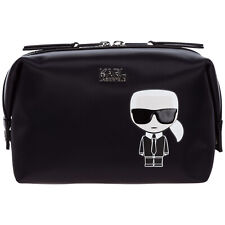 Karl Lagerfeld toiletry bag women k/ikonik 20KW201W3201 Black gold glitter - Ora