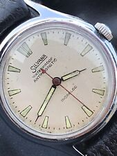 Vintage Gents Silvana Watch & Co Military Style WWII 40's Manual Swiss Movement