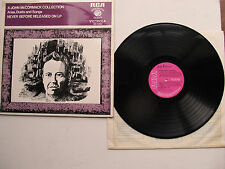 "A John McCormack Collection of Arias Duets & Songs 12"" LP RCA VIC1393 UK 1969"
