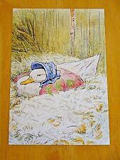 P140x Postcard Beatrix Potter The Tale of Jemima Puddle-duck Amerika Verzamelingen