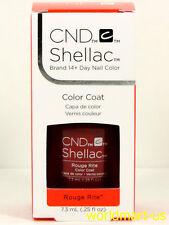 CND Shellac GelColor 7.3ml/0.25fl.oz UV/LED #90869_ Rouge Rite