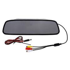 5 pollici Digitale Colore TFT LCD Auto Retrovisore Specchio Inverso Monitor J3V6