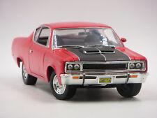 Road Signature 1970 AMC Rebel The Machine 1:18 Scale Red Die-Cast Car