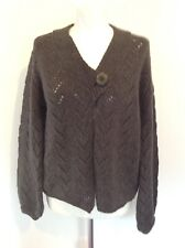BRORA WOMENS 100% CASHMERE CARDIGAN SIZE 12