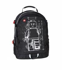 LEGO Schulrucksack Lego Tech Teen Bag mit Minifigur - Aufdruck #Schulranzen ABC