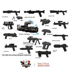 Lego® Star Wars™/Little Arms Blaster waffen set 17 waffen + Zub. fur minifigure