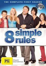C10 BRAND NEW SEALED 8 Simple Rules : Season 1 (DVD, 2008, 3-Disc Set)