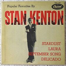 Stan Kenton Popular Favorites By 45 EP NM Stardust Laura Delicato Jazz Big Band