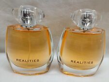 TWO BOTTLES of Realities Perfume for Women by Liz Claiborne 1.7 oz X 2 EDP PINK