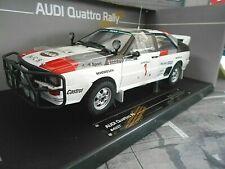 AUDI Quattro Rallye A1 Gr.B 1983 East Safari #1 Mouton / Pons 3rd Sunstar 1:18
