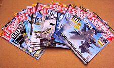 Combat Aircraft Magazine Military Aviation U-Pick Back Issue Lot 2003-2017