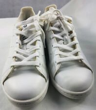 ADIDAS STAN SMITH WHITE Men's LEATHER TRAINERS Size 3 /35.5 Ortholite Shoes Used