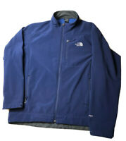 The North Face Men's Full-Zip Apex Soft-shell Jacket Mens XXL Blue