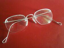 Baush lomb Eyeglasses 14gf White Gold