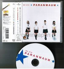 PARANMAUM We Are Paranmaum JAPAN CD UPCH-1426 Movie LINDA LINDA LINDA Bae DooNa