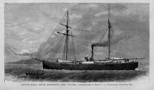 CAPTAIN HALL ARCTIC EXPEDITION SHIP POLARIS SEARCH FOR THE NORTH POLE HISTORY