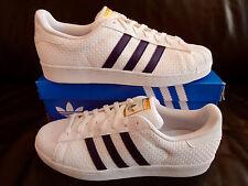 Adidas Superstar/weiß/blau/BA8493/Größe 46 2/3