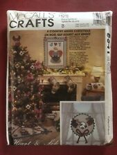PATRONS MCCALL'S CRAFTS DÉCORATIONS NOËL ANGES / CHRISTMAS ANGEL PATTERN N°6641