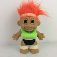 """Russ Workout Gymnastics Exercise Gym Troll Figure Toy 7"""""""