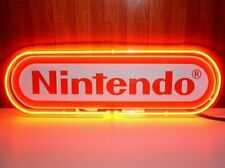 "New Nintendo Neon Light Sign 20"" Beer Cave Gift Lamp Bar Game Room Glass Decor"