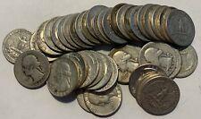 $5 Face Value 90% Silver Us Washington Quarters total of 20